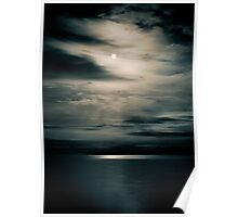 Dark Night Moon Poster