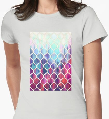 Moroccan Meltdown Womens Fitted T-Shirt