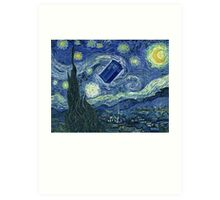 Doctor Who - Starry night Art Print