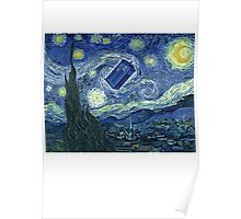 Doctor Who - Starry night Poster