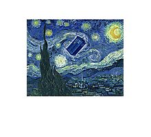 Doctor Who - Starry night Photographic Print