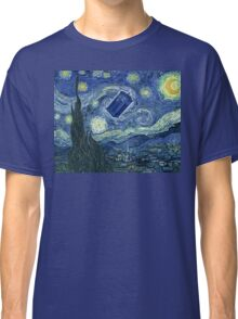 Doctor Who - Starry night Classic T-Shirt