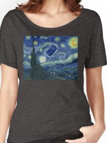 Doctor Who - Starry night Women's Relaxed Fit T-Shirt