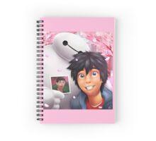 Big Hero 6- Hiro and Baymax Spiral Notebook