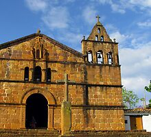 200 Year Old Church by Caesar Padilla