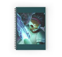 Big Hero 6- Wasabi Spiral Notebook