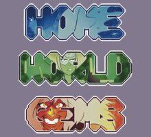 Steven Universe- Homeworld Gems Kids Tee