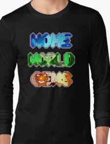 Steven Universe- Homeworld Gems Long Sleeve T-Shirt