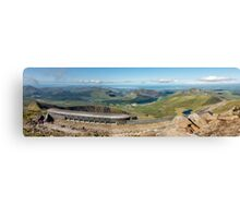 Snowdon Summit Cafe Canvas Print