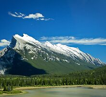 Rundle Mountain by Justin Atkins