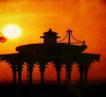 Brighton Sunset ©  by Dawn M. Becker