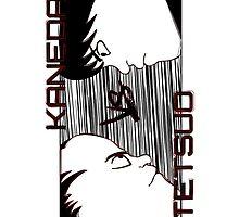 Tetsuo Vs Kaneda by Pyier