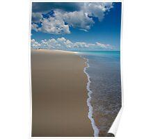 water meet sand Poster