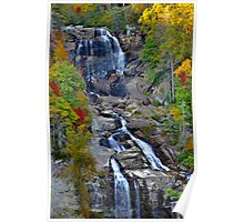 Autumn At The Falls Poster