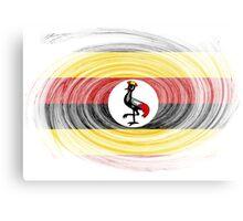 Uganda Twirl Metal Print