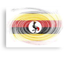 Uganda Twirl Canvas Print