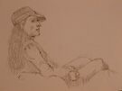 Quick-Sketching at Bob's by Elaine Bawden