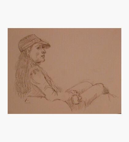Quick-Sketching at Bob's Photographic Print