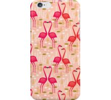 Flamingos by Andrea Lauren iPhone Case/Skin