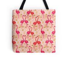 Flamingos by Andrea Lauren Tote Bag