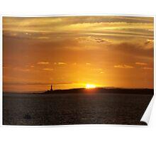 Sunset - Queenscliff Victoria Poster