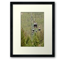 Rush Hour in the Rockies Framed Print