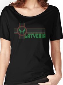 the proud country of latveria Women's Relaxed Fit T-Shirt
