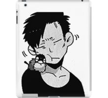 Nicolas brown - Gangsta iPad Case/Skin