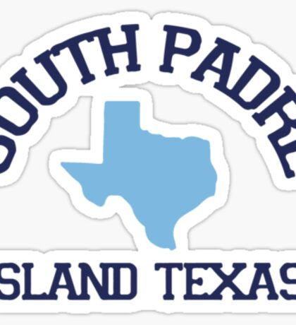 South Padre Island. Sticker