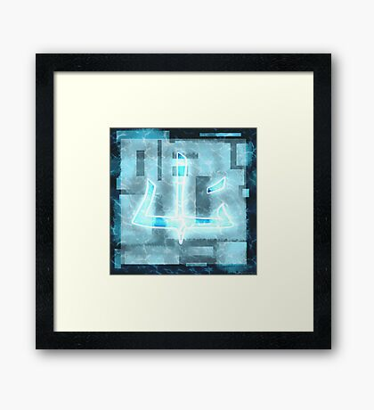 Ninjago- Ice Tournament Framed Print