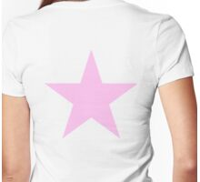 Pink Star, STAR, PINK, Show Girl, Girl Power, Stellar, Red dwarf Womens Fitted T-Shirt