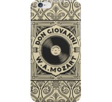 Don Giovanni iPhone Case/Skin