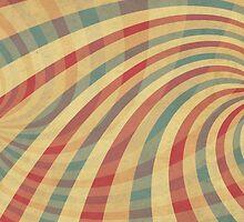 Vintage Striped Background by Olga Altunina