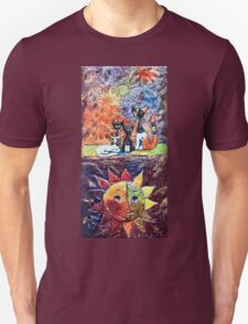 Exclusive: My Creations Artistic Sculpture Relief fact Main 9  PAINT (Painting & Mixed Media) (c)(h) by Olao-Olavia / Okaio Créations Unisex T-Shirt