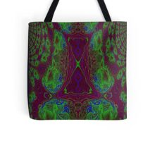 Fusion reactor - mapping of Photons into Electron- Positron pairs -graph Tote Bag