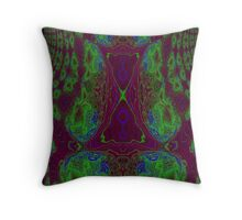 Fusion reactor - mapping of Photons into Electron- Positron pairs -graph Throw Pillow