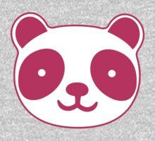 Pink Panda One Piece - Long Sleeve