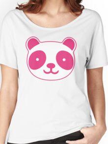 Pink Panda Women's Relaxed Fit T-Shirt