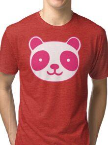 Pink Panda Tri-blend T-Shirt