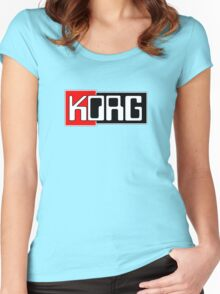 Korg  Music Women's Fitted Scoop T-Shirt