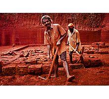 red men Photographic Print
