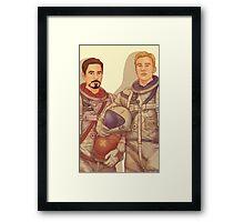 AstroAvengers Framed Print