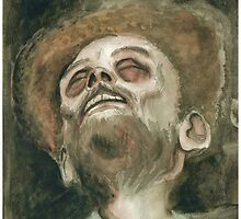 Bob Ross Rotting (Watercolor II) by William Barry Roberts