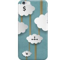 Background With Clouds iPhone Case/Skin