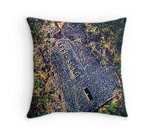 Signal box Throw Pillow