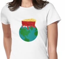 Piece on Earth Womens Fitted T-Shirt
