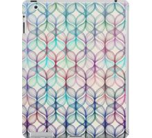Mermaid's Braids - a colored pencil pattern iPad Case/Skin
