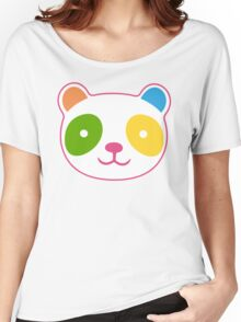 Rainbow Panda Women's Relaxed Fit T-Shirt