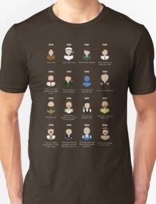 The Faces of Robin Williams Unisex T-Shirt