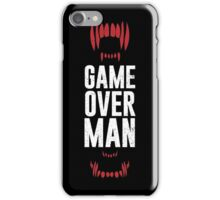 Game Over Man iPhone Case/Skin